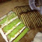 key lime cake & chocolate cake