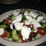 Greek salad...