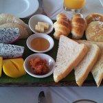 Breakfast spread (that's not all!)