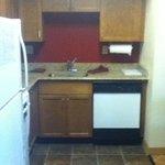 Kitchen area - sink