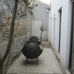 Private courtyard of Yin Room. Orchid Hotel , Beijing
