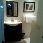 great bathroom.. brand new