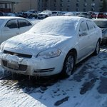 Hotel Car Park after snowstorm!