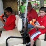 Squirt gun tour