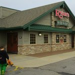 Reese is entering. This is our first time in a Ryan's