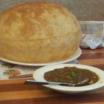 Their signature dish- Channa Bhatura