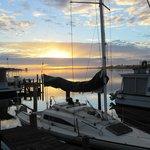 Sunrise over the Murray