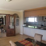 Ontbijtkeuken/buffetarea Knysna country house