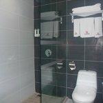 nice bathroom with amenities