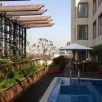 hotel pool facilities.