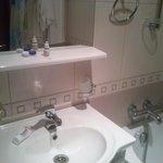 Basic bathroom, dispenser soap