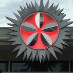 le logo de Toinou à l'entrée du resto