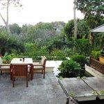 Elephant Bar mit Blick auf die Reis-Terrassen