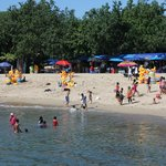 Sanur beach-lots of locals and people trying to sell things. Watch out!
