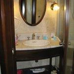 bagno di camera deluxe doppia 401