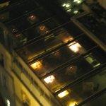 ristorante/terrazza verandata dell'hotel vista da torre di galata