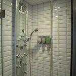 Shower (inside room)