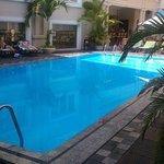 Pool area and bar - Jan 2013