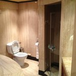 Il bagno della camera della Tagine