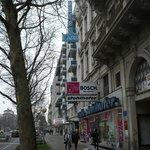 De Praterstraße, met U-bahn Nestroyplatz