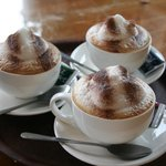 A trio of  cappuccini