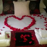 Our rose petal bedroom
