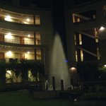 Hotel Grounds - Evening Fountains