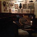 Bar in castle-delicious food!