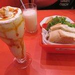 Milkshake de Guavira e X-Jacaré