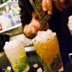 Our cocktail mojito mulata