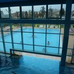 vista dal sopplaco della piscina