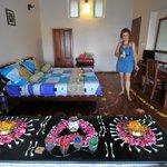 Décoration florale de la chambre