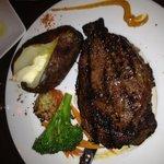 Great steak dinner!