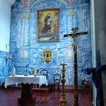 the church in Santo da Serra