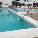 kiddies pool and part of main pool