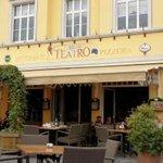 """Facciata esterna del ristorante """"Antico Teatro"""""""