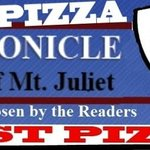 Voted Best Pizza by The Chronicle