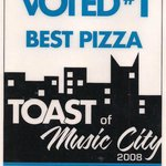 Voted Best Pizza by The Tennessean