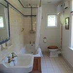 La salle de bain décoré à l'ancienne