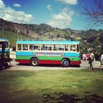The bus to the Marley mausoleum!