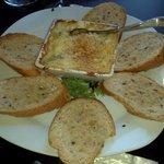 Brie and Crab dip