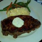 12 oz blackend strip steak