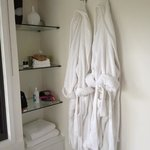 dressing gowns and lots of locally made bathroom products