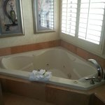 Jacuzzi tub--big enough for two :)