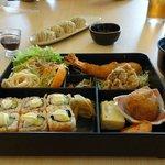 Maki at the restaurant