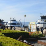 "A short walk from the Tuscan Inn is Fisherman""s Wharf"