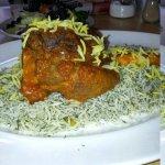 baghli polo mahich ( Braised lamb shank with dill & broadbean rice ) on sundays