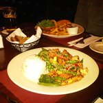 Stir fry chicken & vegetables - Gorgeous :)