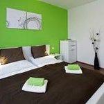 Prague rental apartment with nice bedroom