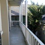 gallery/balcony near our room